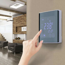 Digital Touch Screen Thermostat Temperature Controller Heating Programming 16A