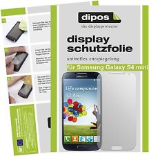 Samsung Galaxy S4 mini Schutzfolie matt Displayschutzfolie Folie Antireflex