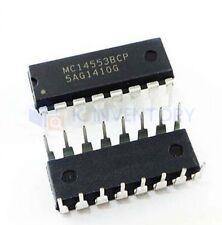 5PCS MC14553BCP Encapsulation:DIP-16,3-Digit BCD Counter