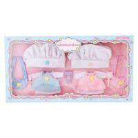 Little Twin Stars Doll clothes Set Cook kikilala Quilt Mascot Sanrio JAPAN F/S