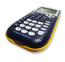 Yellow TI-84 Plus Graphic Calculator Texas Instruments TI84 Graphing Very Good