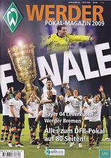 Werder Magazin + SPEZIAL DFB Pokal FINALE + 30.05.2009 + Bremen vs. Leverkusen +