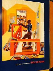 Jacob Lawrence - The Studio Seattle Art Museum 1977 Out Of Print