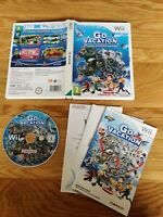 Go Vacation Nintendo Wii PAL UK FREE P&P 50 ACTIVITIES SPORTS PAL UK - FREE P&P