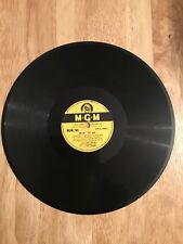 Vintage78 Records BILLY ECKSTINE, MGM763. I Let a song go out of my heart2 noone