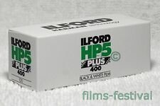 5 rolls ILFORD HP5 Plus 400 B&W Film 120