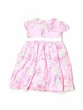 Toddler Girl Lilly Pulitzer Pulitzer's Prize Bouquet Flower Pink Dress Size 2T