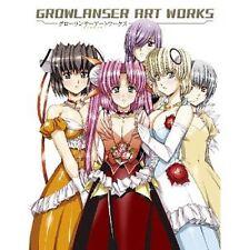 Growlanser artworks illustration art book / PSP