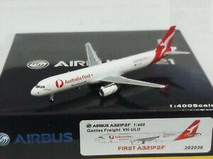 1/400 Pandamodel Qantas Freight A321P2F VH-ULD Australia Post FIRST A321P2F