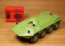 VINTAGE BTR-90 GNOM-3 RADIO CONTOL TOY BATTERY OPERATED USSR SOVIET ERA