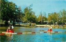 MacTier ON~Lake Joseph Training Holiday Center for Blind~Pedal Boating~1965