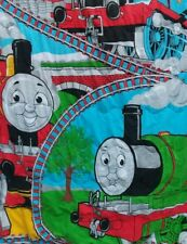 Original Thomas the Tank train Toddler Bed quilt crib blanket red blue green