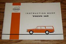 Original 1971 Volvo 145 Owners Operators Manual Instruction Book 71