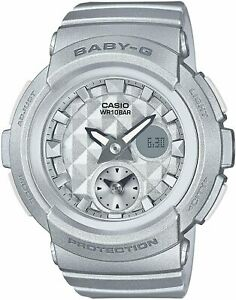 Casio Watch Baby Gee BABY-G Studs Dial Series BGA-195-8AJF Silver