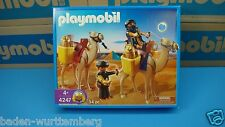 Playmobil 4247 Egyptian series robbers/ camels mint  in Box MIBNO New toy 122