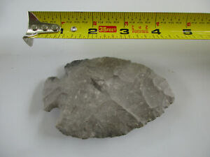 #611 1 plow point, Knife blade or spear, East Texas artifact, MM....