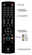 New Westinghouse RMT-23 TV Remote Control for CW50T9XW, DWM40F1G1, EU40F1G1.
