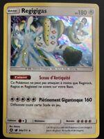 Carte Pokemon REGIGIGAS 84//111 HOLO REVERSE Soleil et Lune 4 SL4 FR NEUF
