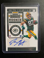 Jace Sternberger Contenders Rookie Ticket Auto Green Bay Packers Panini 2019