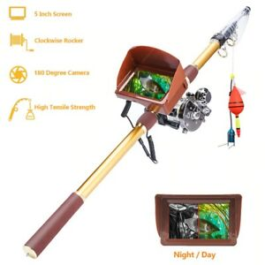 Fishing Rod Cameras Finder 40m line underwater Camera Rod 8MP HD Rod 90kg Pull