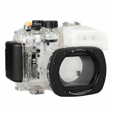 Meikon Underwater Housing Waterproof Case for Canon Camera G15 WP-DC48