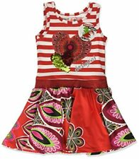 Vêtements robes rouges pour fille de 6 à 7 ans