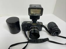 Canon T70 T-70 35mm Vintage Film Fd Lens Mount Slr Camera Body W/ Accessories