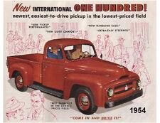 1954 Truck International 100 Refrigerator  Magnet