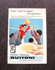 M210- Advertising Pubblicità -1960- BUITONI PASTINA GLUTINATA