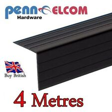 Black Plastic Extruded Angle ( 4 meters) 22mm x 22mm x 2000mm