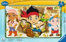 RAVENSBURGER 06055 Jake E Il Neverland Pirati 15 Pezzo Puzzle per Bambini Nuovo