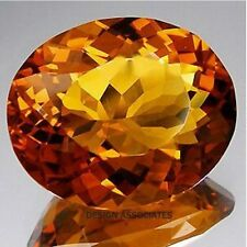 NATURAL MADEIRA CITRINE LARGE OVAL CUT 21X32 MM OUTSTANDING