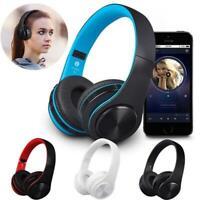Cuffie  Bluetooth 5.0 Wireless Pieghevoli con Stereo HiFi e Microfono Integrato