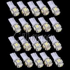 5PCS T10 5050 W5W 5 SMD 194 168 LED White 12X30m Car Side Wedge Tail Light Lamp