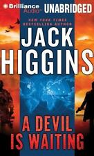 Jack Higgins A DEVIL'S IS WAITING Unabridged CD *NEW* FAST 1st Class Ship!