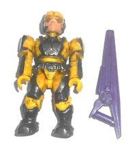 Halo Mega Bloks cifras ~ 2012 Unsc Marine (Amarillo) Rifle de Haz &