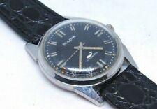 Vintage 1961 Men's BULOVA SEA KING AUTOMATIC Wrist Watch (Black Dial)