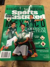 June 4, 2018 Chicharito Carlos Vela MEXICO World Cup Sports Illustrated NO LABEL