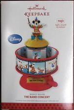 2013 HALLMARK ORNAMENT THE BAND CONCERT MICKEY MOUSE MAGIC LIGHT SOUND & MOTION