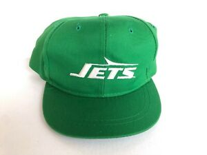 VINTAGE DEADSTOCK NEW YORK JETS KIDS YOUTH SNAPBACK HAT NEW ERA PRO MODEL CAP