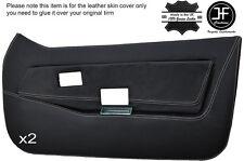 White stitch 2X front full porte carte en cuir couvre fits lotus elite eclat S1