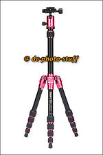 MeFoto BackPacker A0350Q0 Aluminium Tripod Kit * PINK * 13 lbs loading