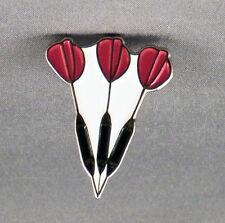 Metal Enamel Pin Badge Brooch Darts Dart Arrows Dartboard Trio Three Darts