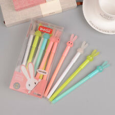 12pcs 0.38mm Erasable Gel Pen for Writing Office School Supplies Luminous Rabbit