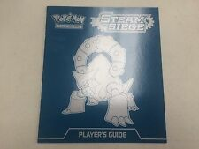 Player's Guide Book ONLY Steam Siege Elite Trainer Box Volcanion Pokemon Cards