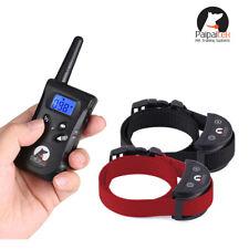 2 Dogs No Shock 500 Yard Remote Dog Pet Training Collar Bark Collar Paipaitek