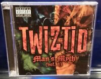 Twiztid - Man's Myth CD / DVD insane clown posse esham blaze ya dead homie icp
