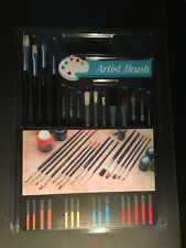 artist paint touch up brushes pack of 15 assorted sizes