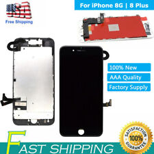 For iPhone 8 Plus 8 LCD Screen Assembly Replacement 3D Touch Digitizer Complete