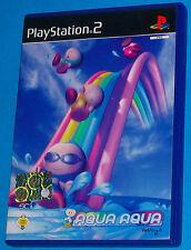 Aqua Aqua - Sony Playstation 2 PS2 - PAL